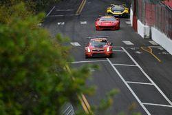 #3 Cadillac Racing Cadillac ATS-VR GT3: Johnny O'Connell, #61 R.Ferri Motorsport Ferrari 488 GT3: Alex Riberas, #9 K-Pax Racing McLaren 650S GT3: Alvaro Parente