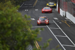 #3 Cadillac Racing, Cadillac ATS-VR GT3: Johnny O'Connell; #61 R.Ferri Motorsport, Ferrari 488 GT3: