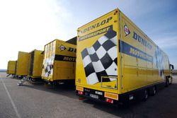 Camiones de Dunlop