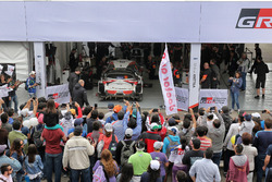 De auto van Jari-Matti Latvala, Miikka Anttila, Toyota Yaris WRC, Toyota Racing
