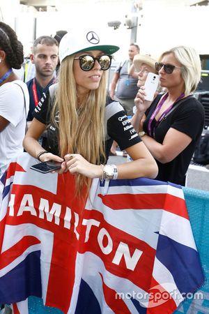 Fan of Lewis Hamilton, Mercedes AMG F1