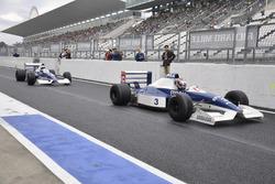 2台のティレル019/中嶋悟と中嶋大祐(Tyrrell019, Satoru Nakajima, Daisuke Nakajima)