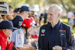 Adrian Newey, directeur technique, Red Bull Racing