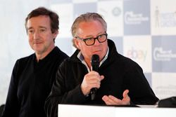 Wayne Gardner in the Silverstone Classic press conference