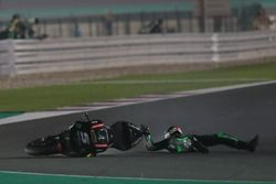 Crash, Johann Zarco, Monster Yamaha Tech 3