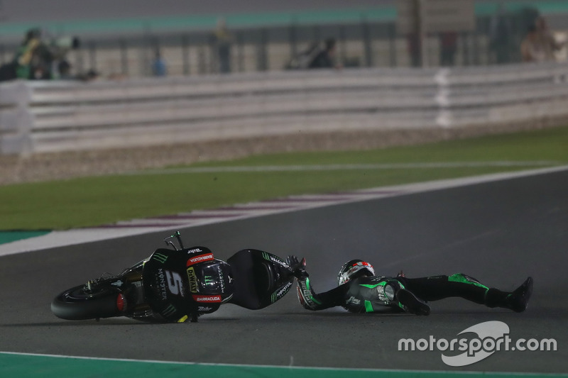 Johann Zarco, 11 crashes