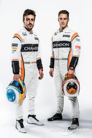 Fernando Alonso, Stoffel Vandoorne, McLaren