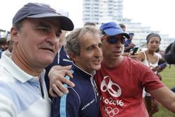 Alan Prost, Renault e.Dams con i tifosi
