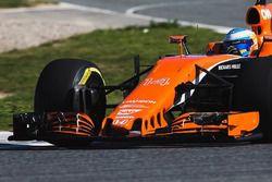 Fernando Alonso, el McLaren MCL32