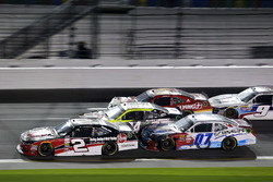 Austin Dillon, Richard Childress Racing Chevrolet; Ray Black Jr., Chevrolet