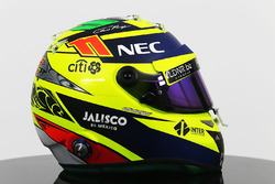 Helm von Sergio Perez, Sahara Force India F1 Team