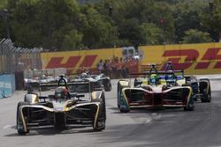 Jean-Eric Vergne, Techeetah; Lucas di Grassi, ABT Schaeffler Audi Sport