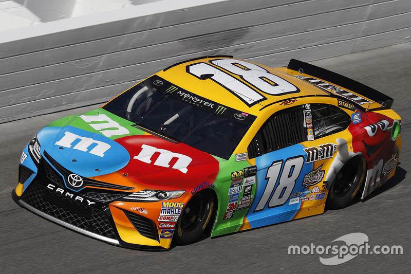 Unfall: Kyle Busch, Joe Gibbs Racing, Toyota