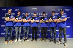 Foto di gruppo Yamaha MXGP Team