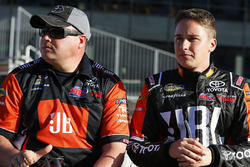 Christopher Bell, Kyle Busch Motorsports Toyota and Ryan Fugle, Kyle Busch Motorsports