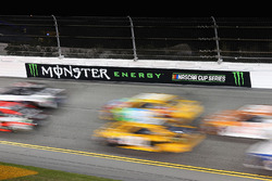 Race action during the Monster Energy NASCAR Cup Series Can-Am Duel 1