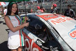 Hot Castrol girl for Rick Kelly, Nissan Motorsports