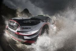 Elfyn Evans, Daniel Barritt, M-Sport, Ford Fiesta WRC/