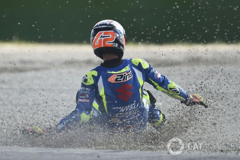 7. Алекс Ринс, Suzuki – 8 аварий