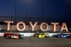 Matt Tifft, Joe Gibbs Racing Toyota, Paul Menard, Richard Childress Racing Chevrolet, Elliott Sadler