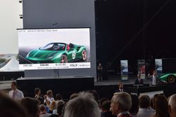 Ferrari 488 Spider Green Jewel all'asta di beneficenza per Save The Children