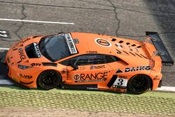 Lamborghini Huracan GT3 #3, Orange1 Team Lazarus, Artur Janosz, Nicola De Marco e Nathanael Berthon