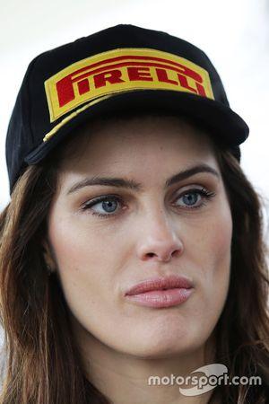 Pirelli grid girl