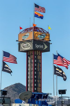 Anzeigeturm am Phoenix International Raceway