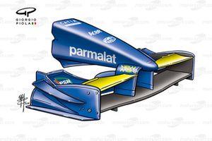 Prost AP04 2001, ala anteriore di Monaco