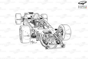Lotus 56B 1971 detailed front view