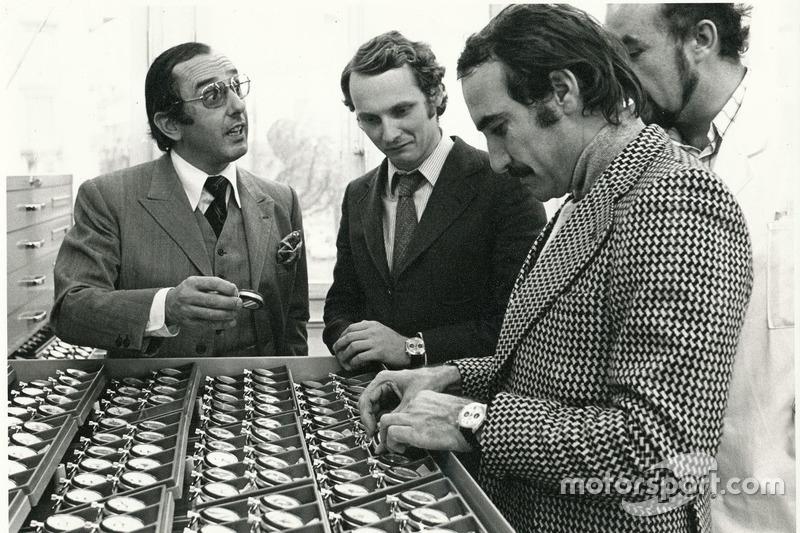 Niki Lauda e Clay Regazzoni