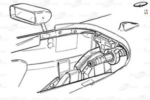 McLaren MP4-14 cockpit