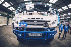Team Kamaz Master ready for the long journey to Buenos Aires