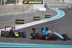 Акаш Нанди, Jenzer Motorsport, и Джейк Хьюз, DAMS