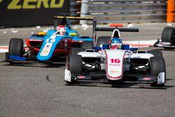 Matevos Isaakyan, Koiranen GP leads Akash Nandy, Jenzer Motorsport