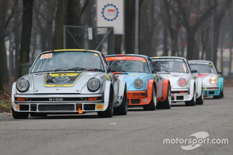 Matteo Musti Filippo Natino Porsche 911 Sc At Monza Rally Show