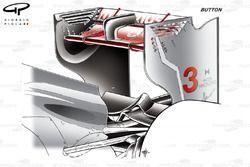 McLaren MP4-27 rear wing