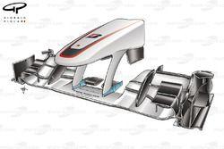 Sauber C29 front wing