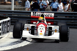 Ayrton Senna, McLaren MP4/7A
