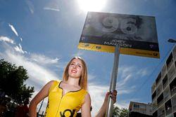 Chica de la parrilla para, Joey Mawson, Van Amersfoort Racing, Dallara F317 - Mercedes-Benz