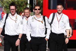 Andrew Shovlin, Chief Race Engineer, Mercedes AMG F1 en Mercedes AMG F1 management