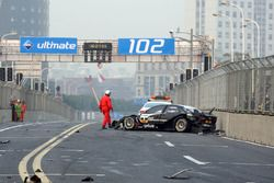 Timo Scheider, Audi Sport Team Abt crashes