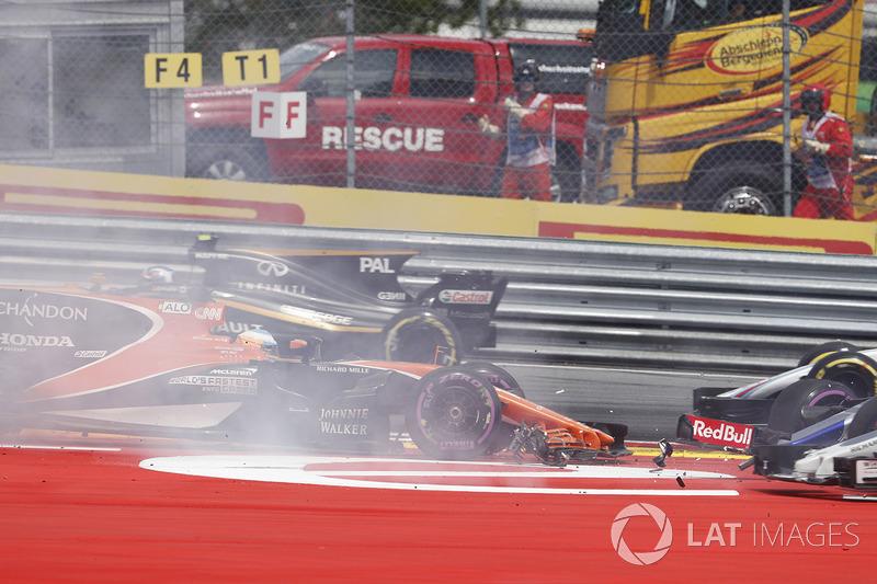 Giro 1 - Fernando Alonso, McLaren MCL32