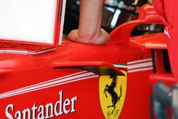 Ferrari SF70H, dettaglio