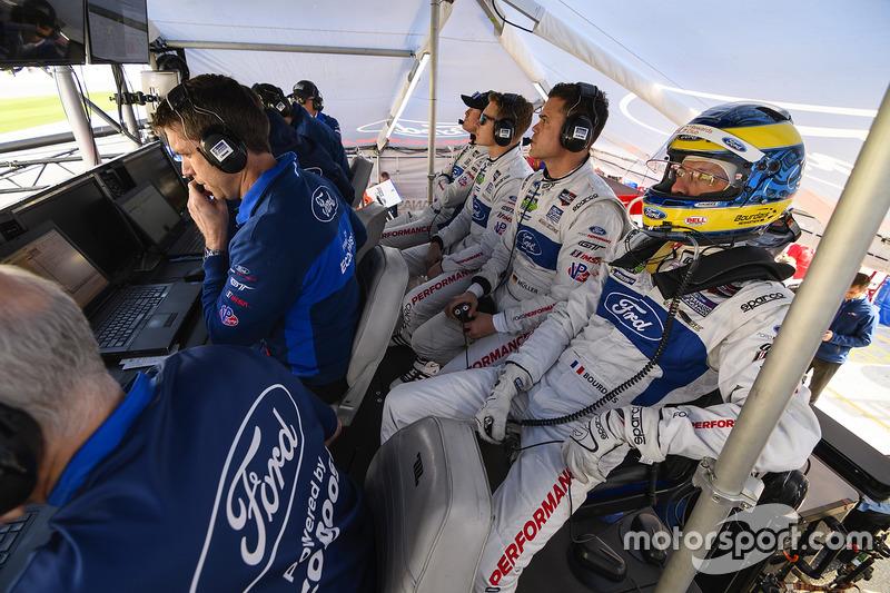 Sébastien Bourdais, Dirk Müller, Ford Performance Chip Ganassi Racing