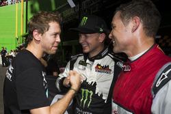 Sebastian Vettel, Petter Solberg, Tom Kristensen