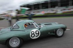 1963 Jaguar E-type, Gordon Shedden - Chris Ward