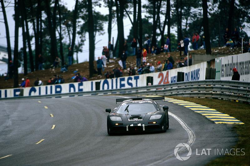 1995: Yannick Dalmas, JJ Lehto, Masanori Seiky, McLaren F1 GTR