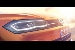 Teaser-Foto: der neue Volkswagen Polo, 6. Generation
