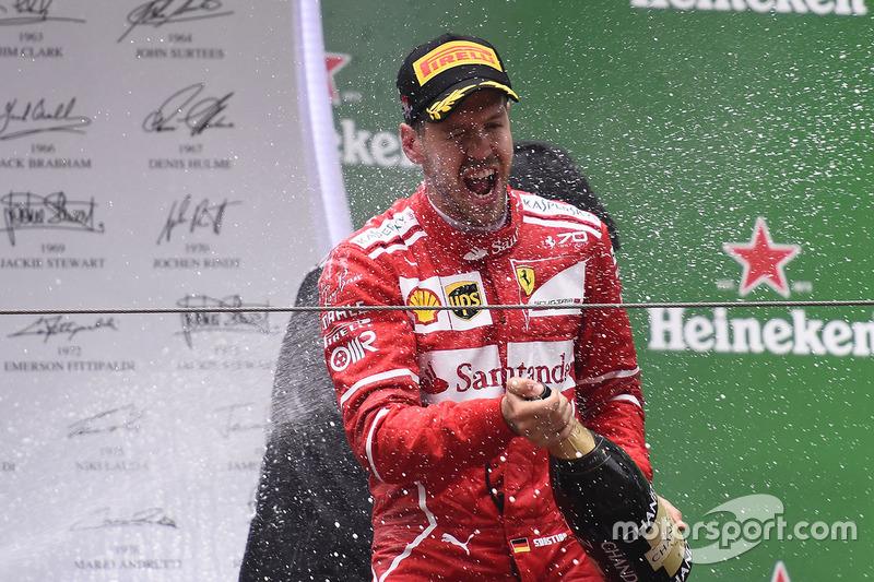 Sebastian Vettel, 2º